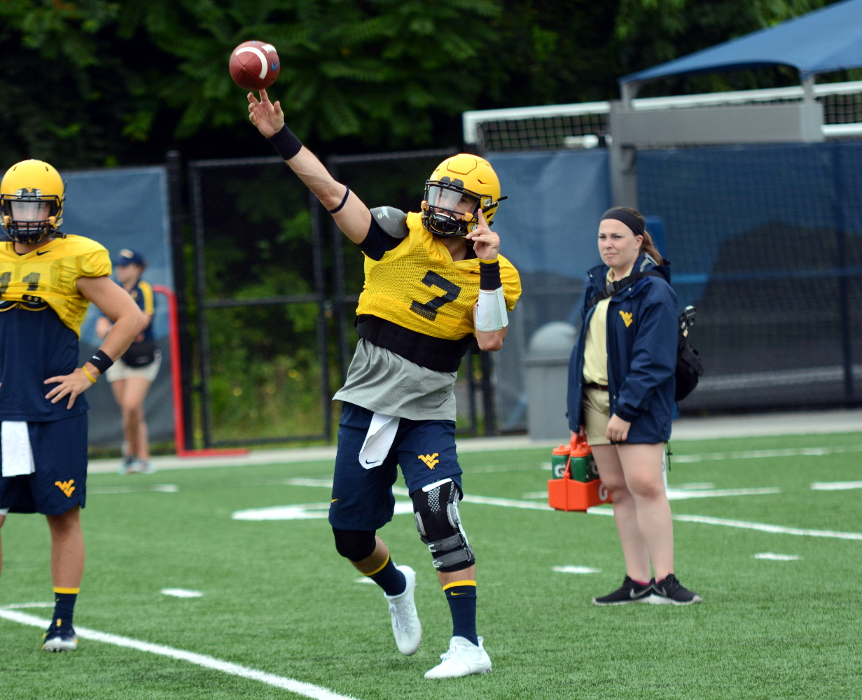 WVU quarterback Will Grier
