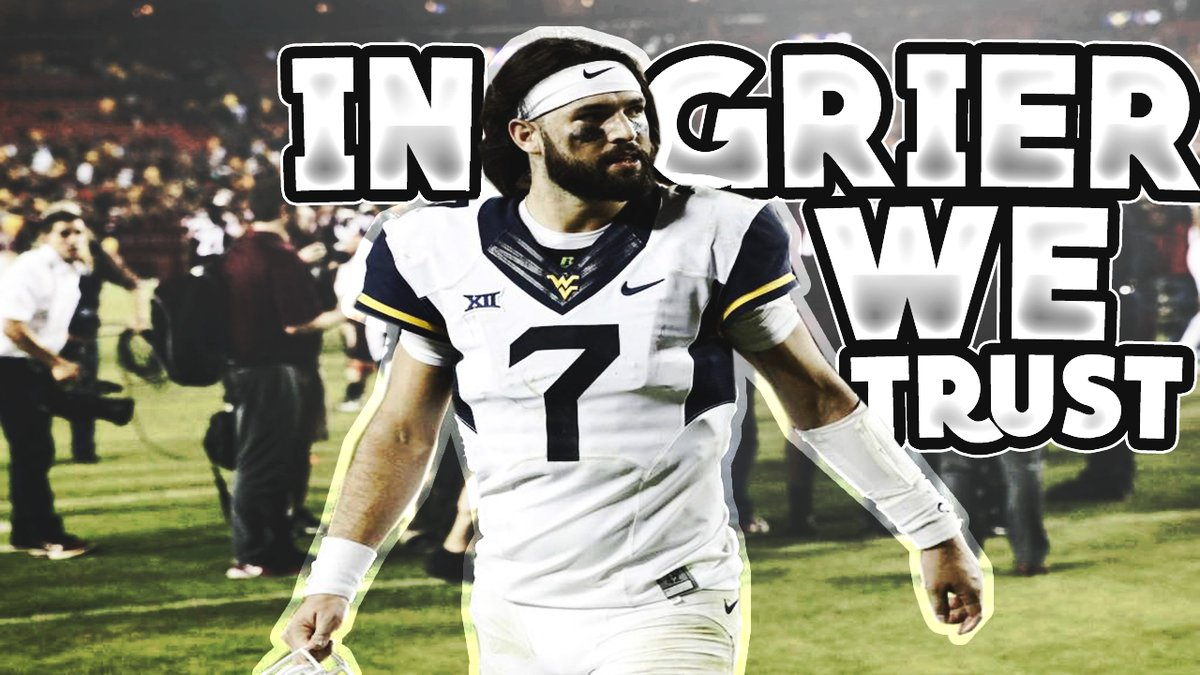 Will Grier With Historic First Half Against East Carolina