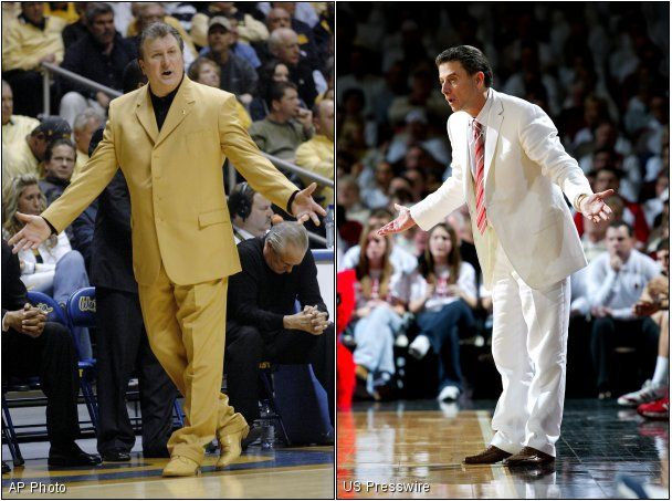 Bob Huggins and Rick Pitino