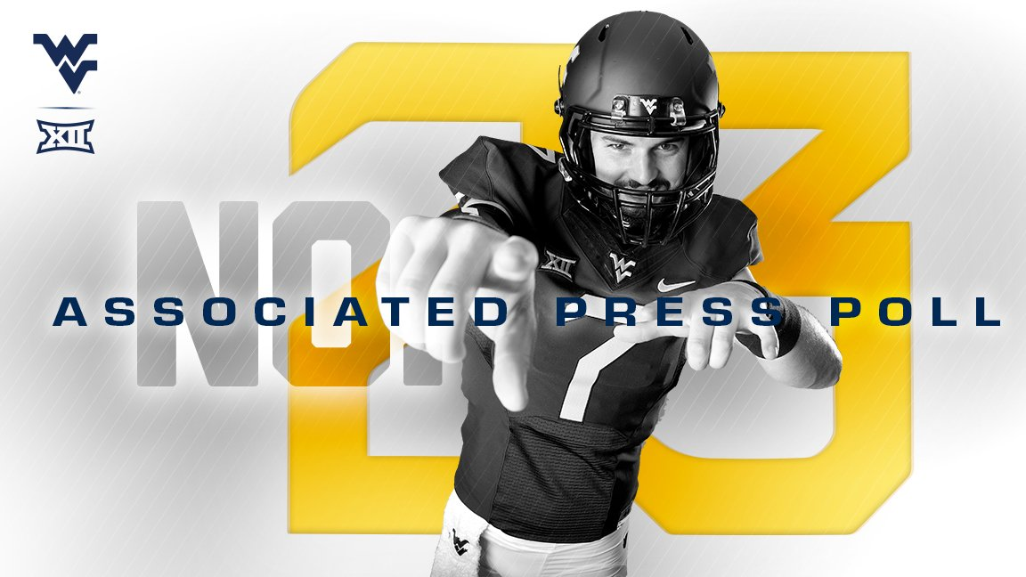 WVU ranked, ap top 25, coaches poll