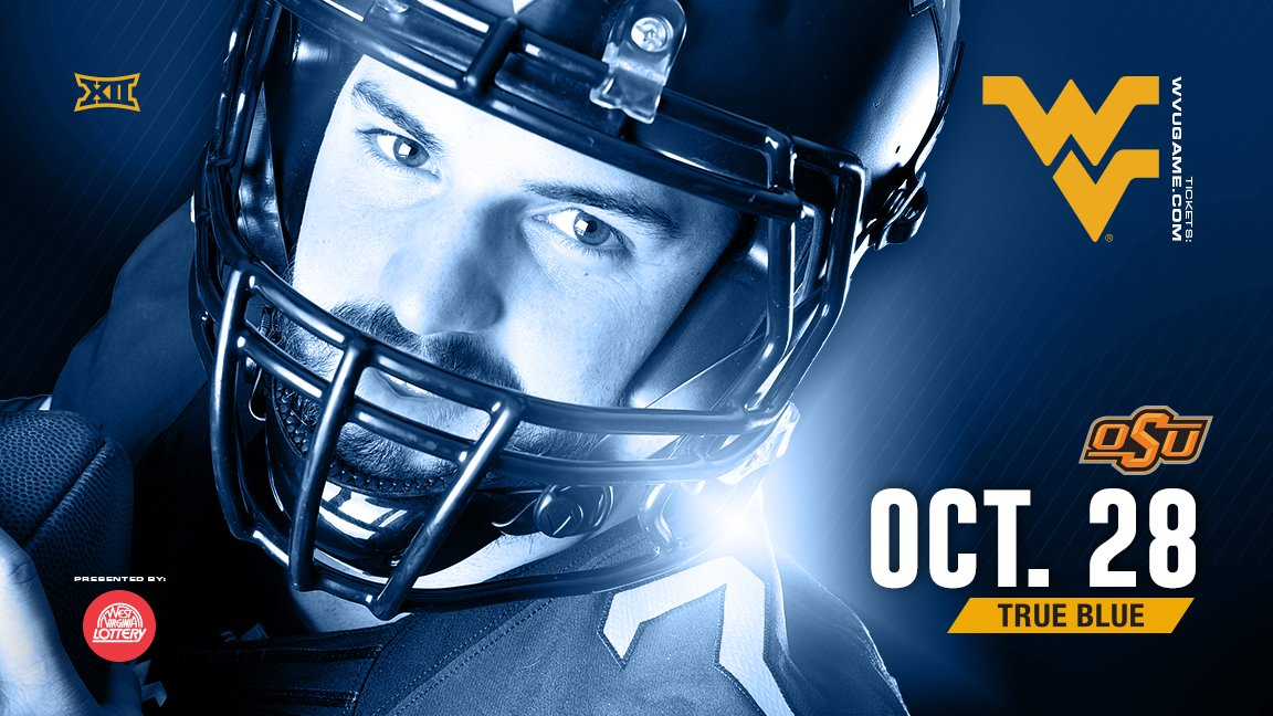 Another Noon Kickoff For WVU-Oklahoma State