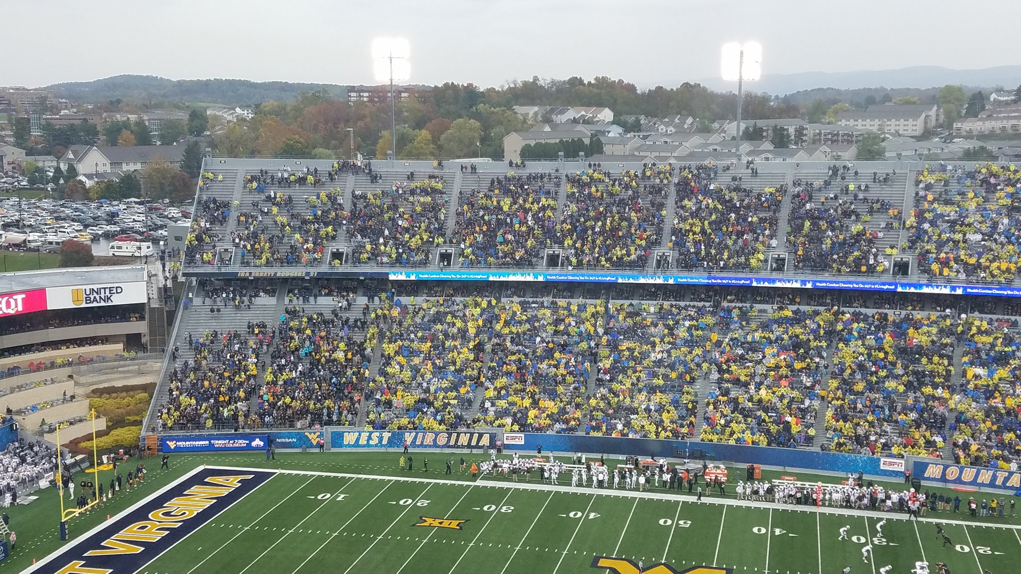 WVU Student Section