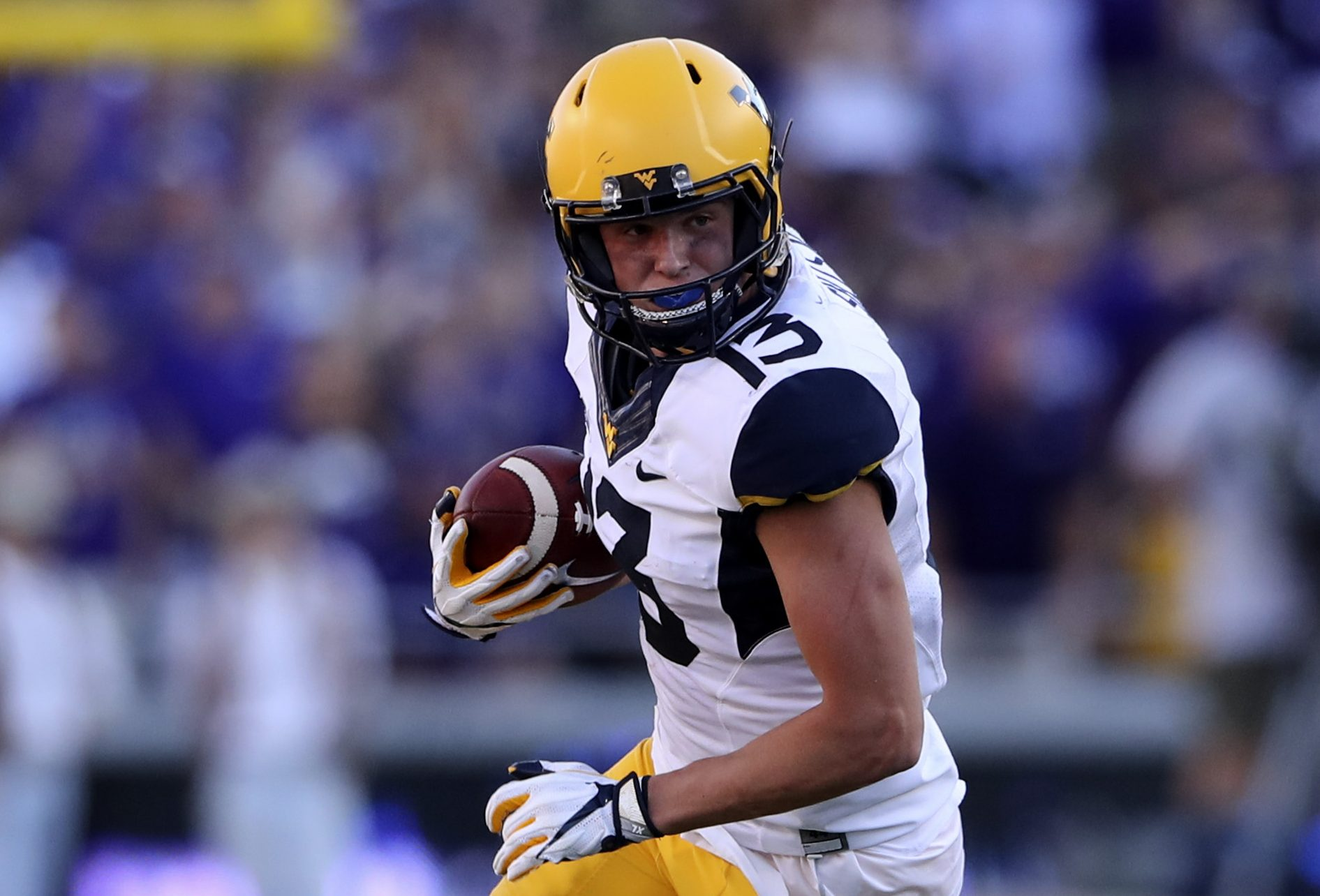 WVU's Sills Leads The Nation In Receiving TDs