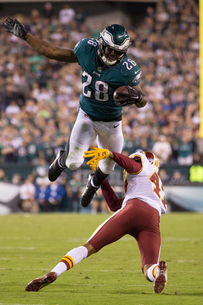 WVU Players In The NFL, Wendell Smallwood