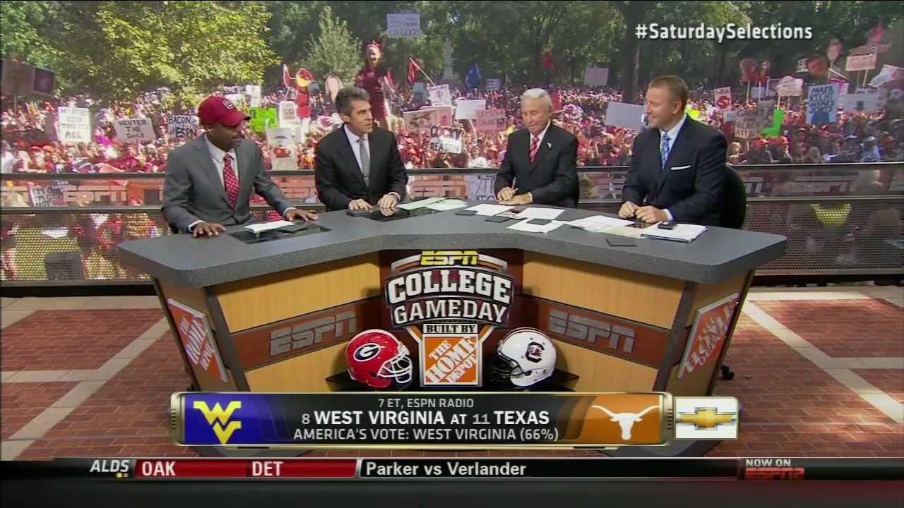 College Gameday Week 6 Location Revealed, WVU vs TCU, Forth Worth gameday