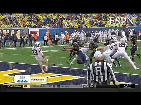WVU Scored 2 Non-Offensive Touchdowns In 45 Seconds