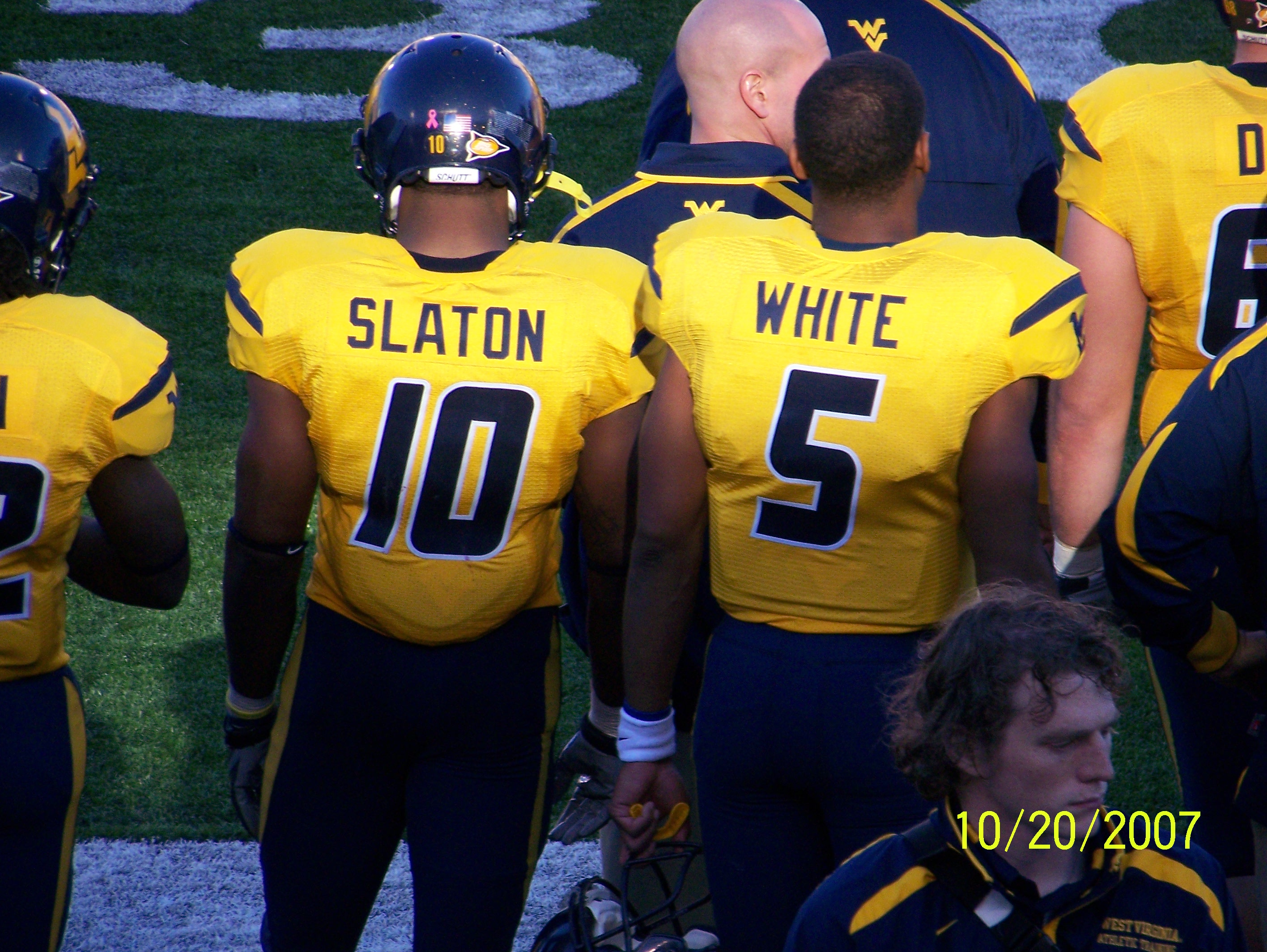 Pat White and Steve Slaton Feel Unwelcome At WVU
