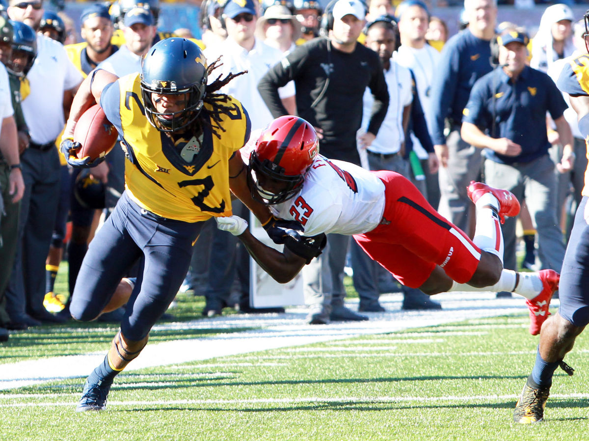 West Virginia Could Be First Team With Three 1,000 Yard Receivers Since 2013