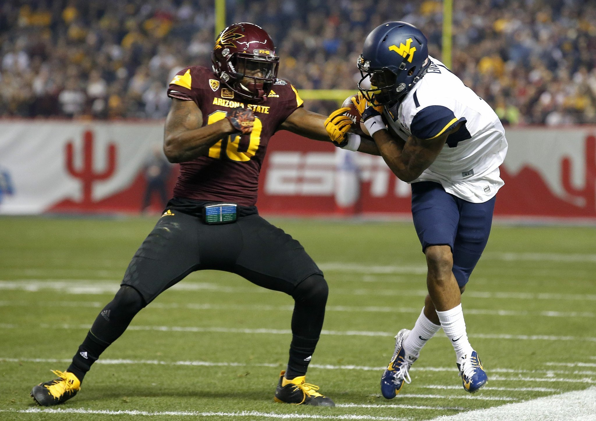Sporting News Projects West Virginia Headed To The Cactus Bowl