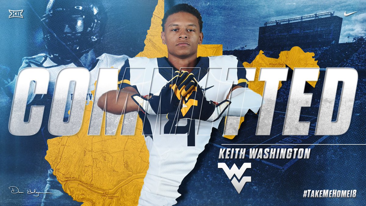 Mountaineers Nab Former Michigan DB Keith Washington