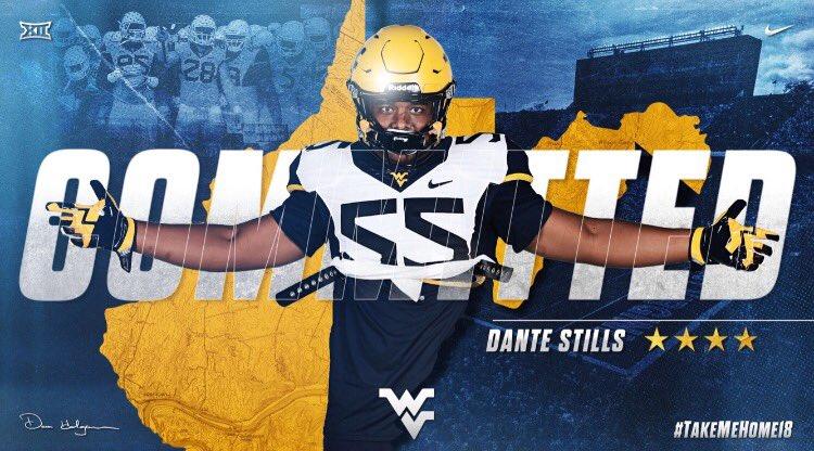 ESPN Names Fairmont Native Dante Stills West Virginia's Most Important Freshman