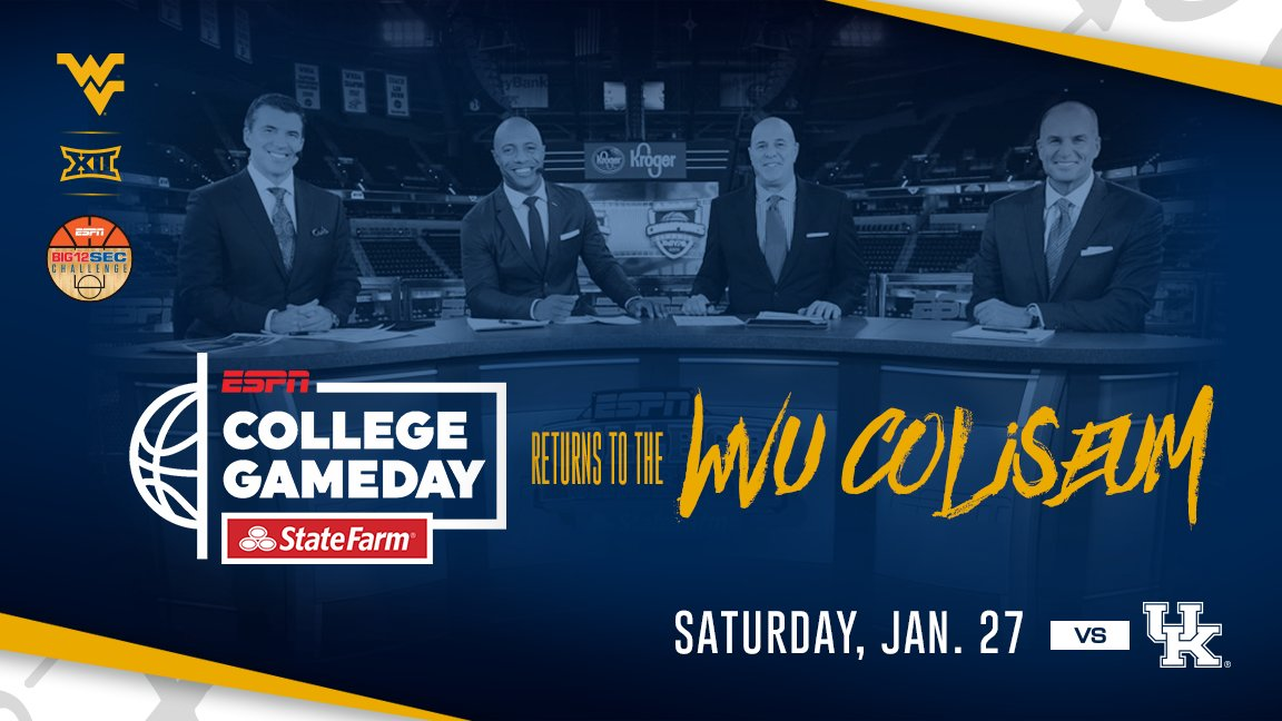 College GameDay Comes To Morgantown