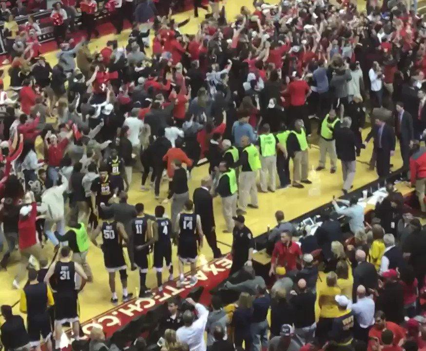 West Virginia University 'Gathering Information On Post-Game Fiasco