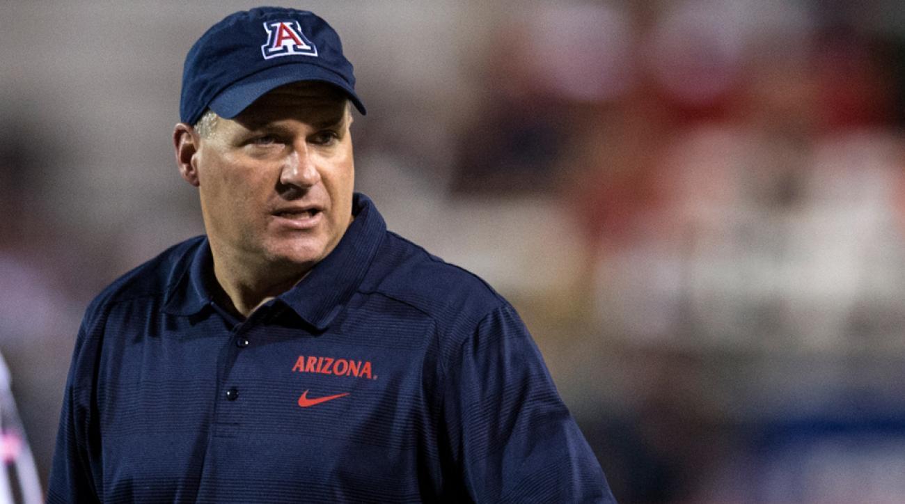 Rich Rodriguez Out As Arizona Football Coach