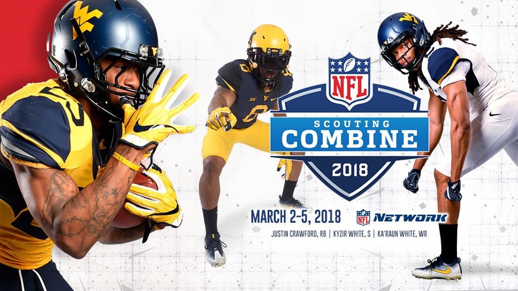 Three Mountaineers Invited to NFL Combine, Kyzir White, Ka'Raun White, Justin Crawford