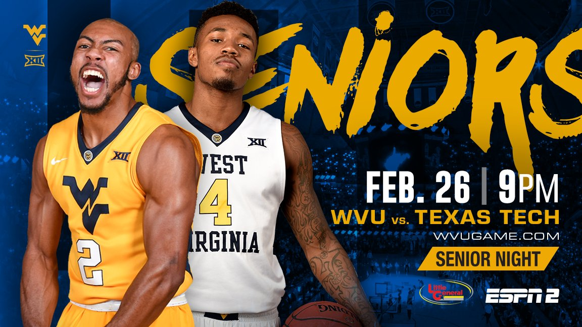 Senior Night In Morgantown: Tribute to Jevon and Dax