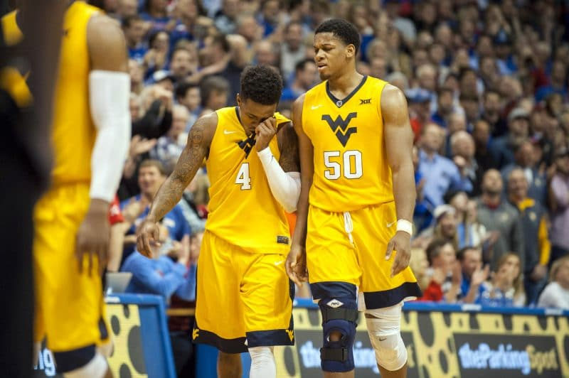Mountaineers Rise In Latest Bracketology