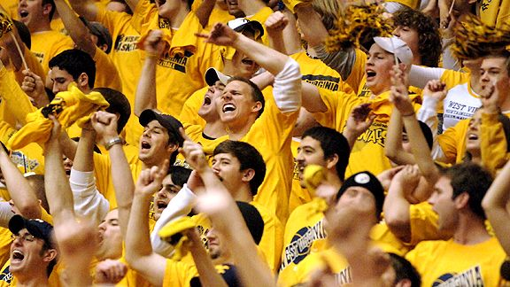 West Virginia Basketball Fans Ranked On List Of Most Obnoxious Crowds In College Basketball