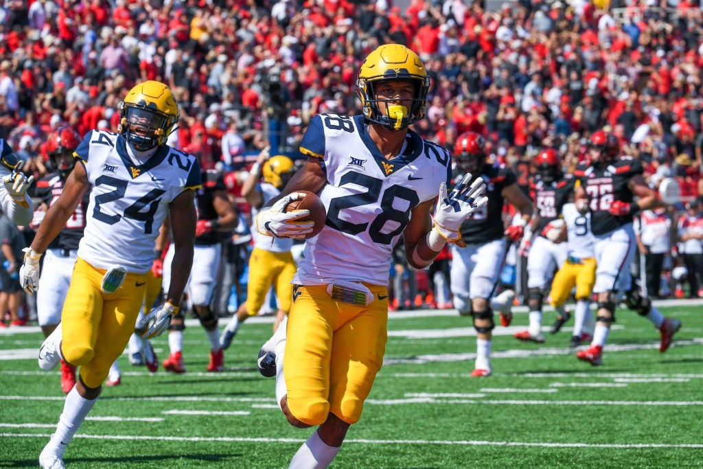 WVU Releases Official Depth Chart for Kansas Game