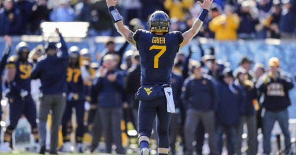 will grier on senior day