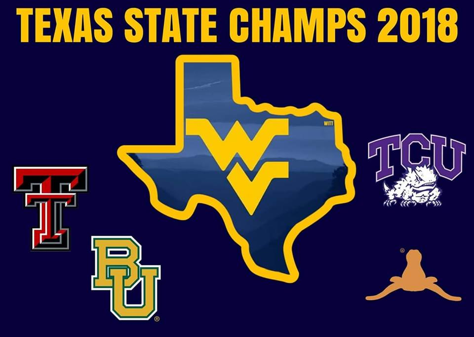 wvu 2018 texas state champs