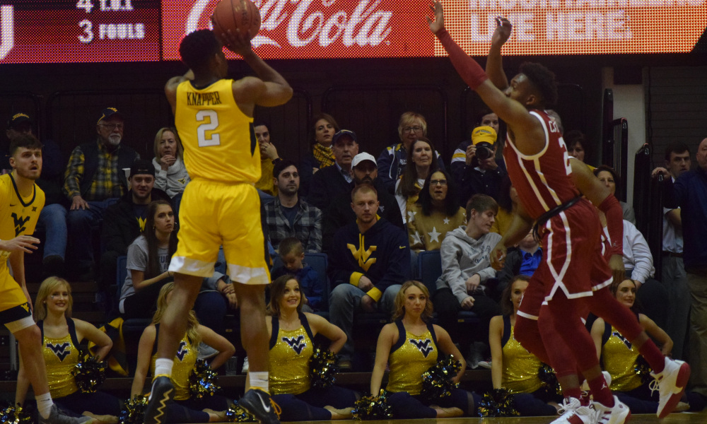 Brandon Knapper WVU, Can the Mountaineers Build off Their Success vs Oklahoma Tonight in Lubbock?