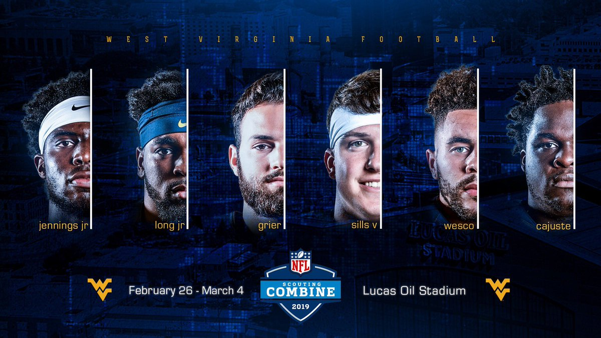 Six WVU Offensive Participants in NFL Combine