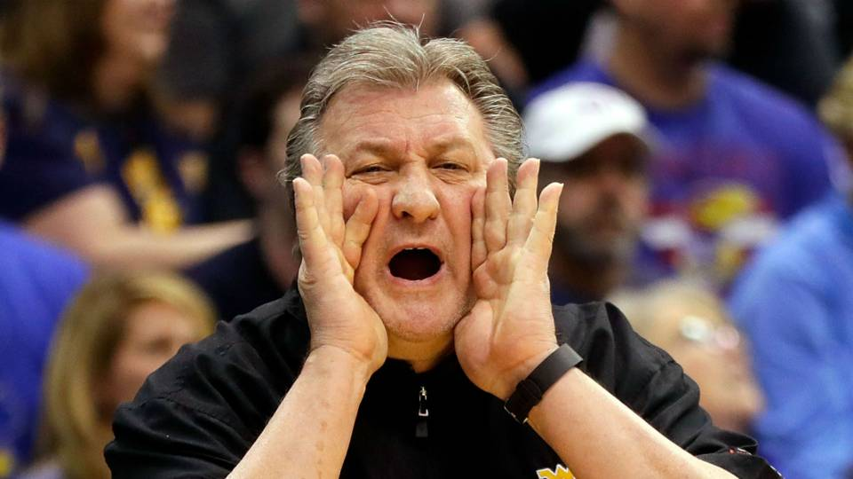 Bob Huggins Calls Out the Fans, support the boys