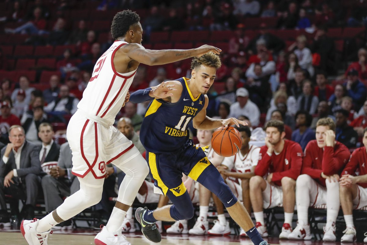 Oklahoma Defeats West Virginia 92-80