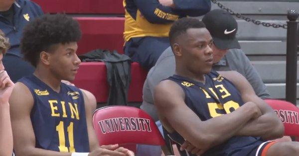 Oscar Tshiebwe and Miles McBride