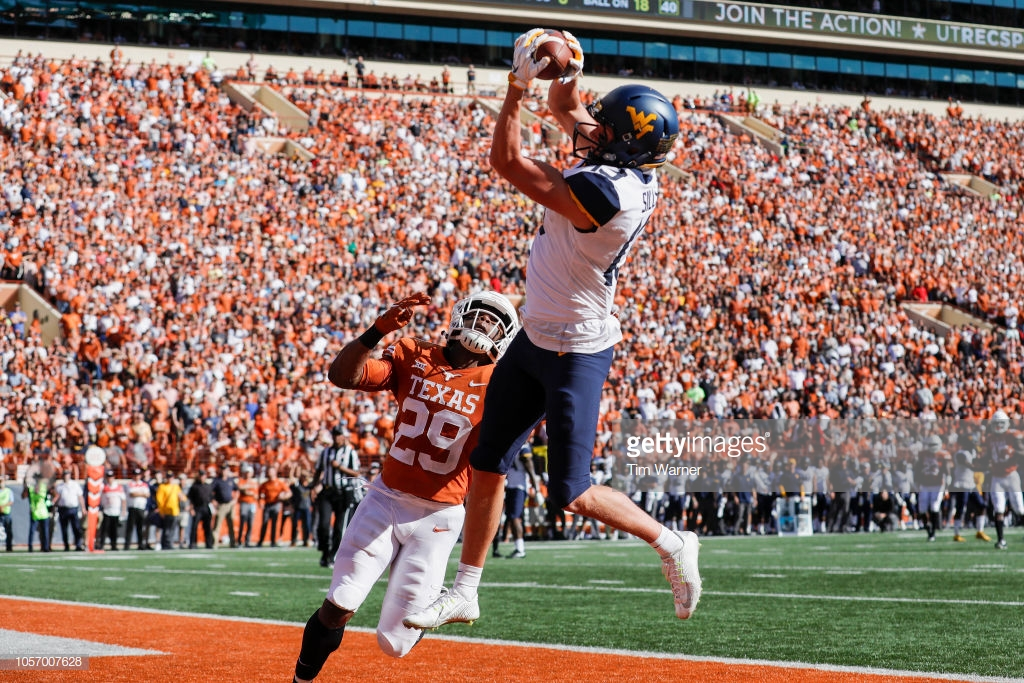 Pittsburgh Steelers 'are in love' With WVU WR David Sills