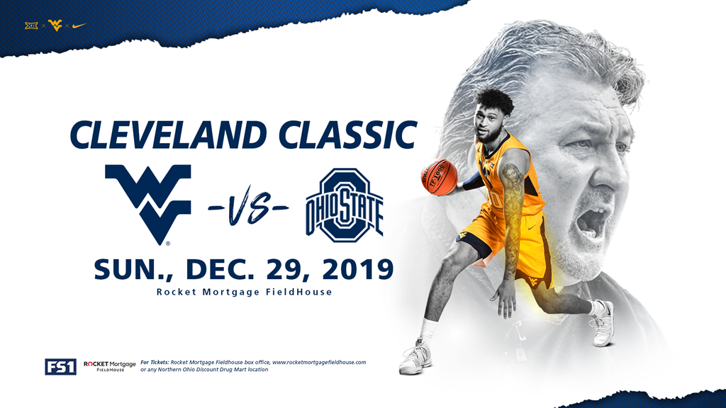 WVU and Ohio State Set to Square Off in Cleveland Classic
