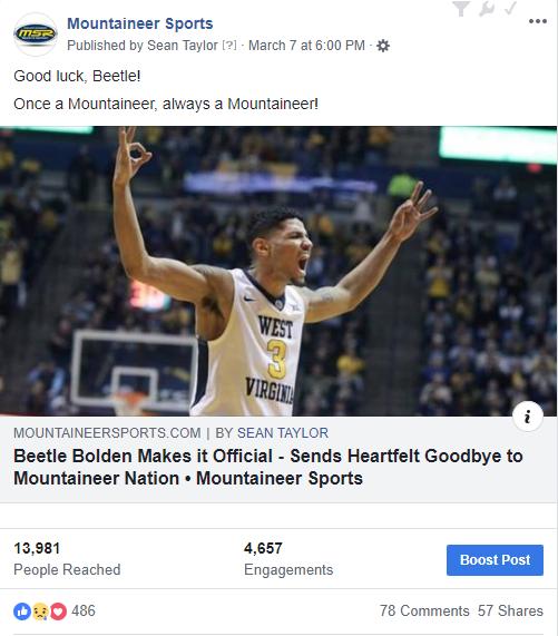 beetle bolden farewell