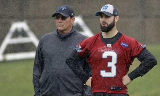 Carolina Coach Ron Rivera Complimentary of Will Grier
