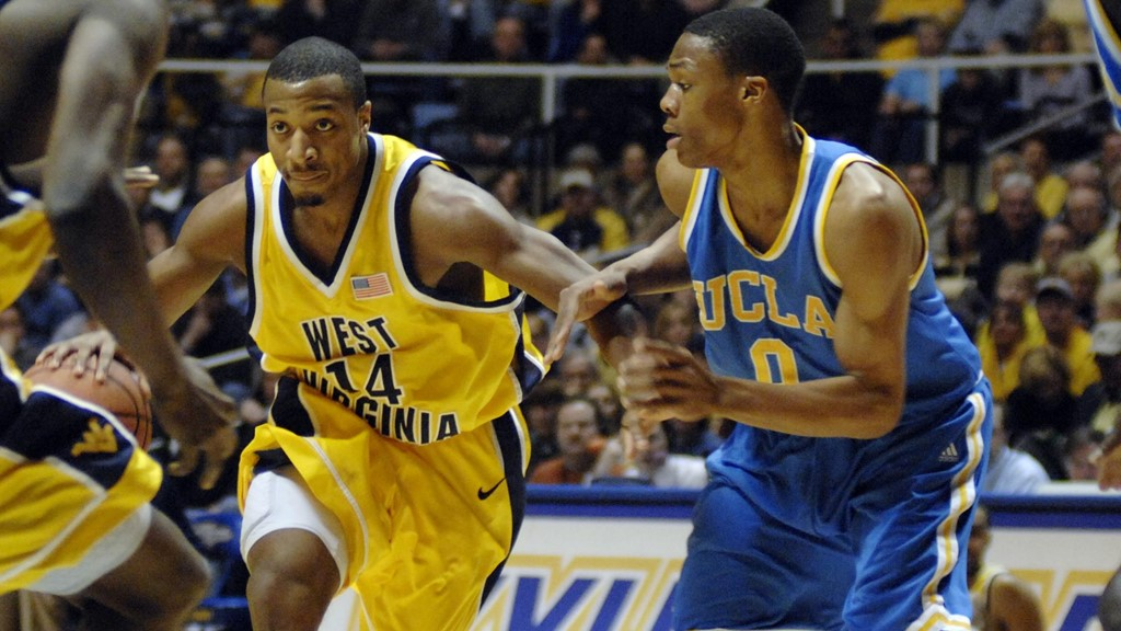 Darris Nichols Russell Westbrook WVU vs UCLA 2007