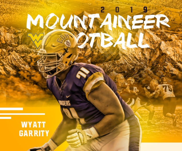 Offensive Line Commit From Minnesota wyatt garrity wvu