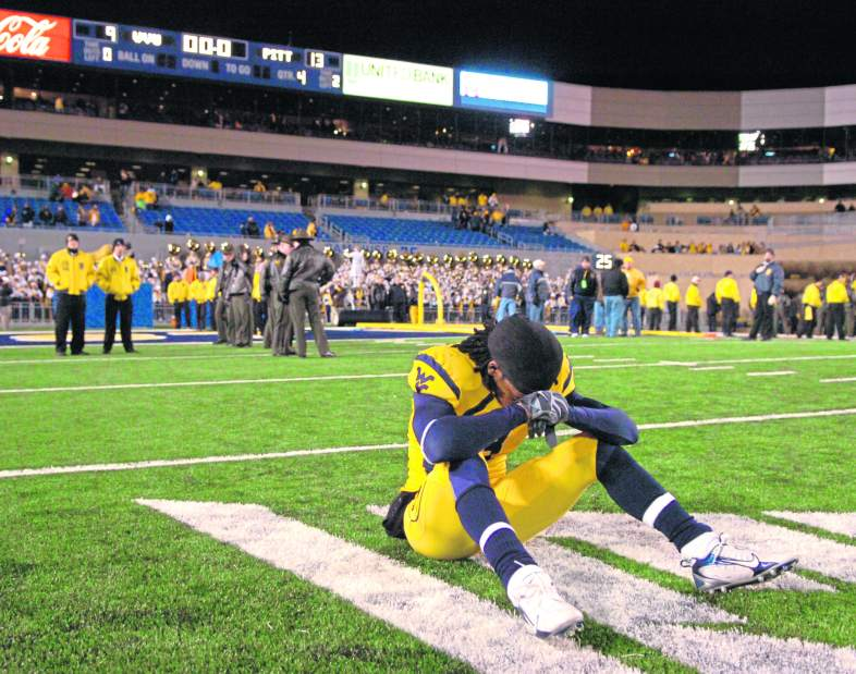 Worst Loss in WVU Sports History, wvu pitt 13 to 9