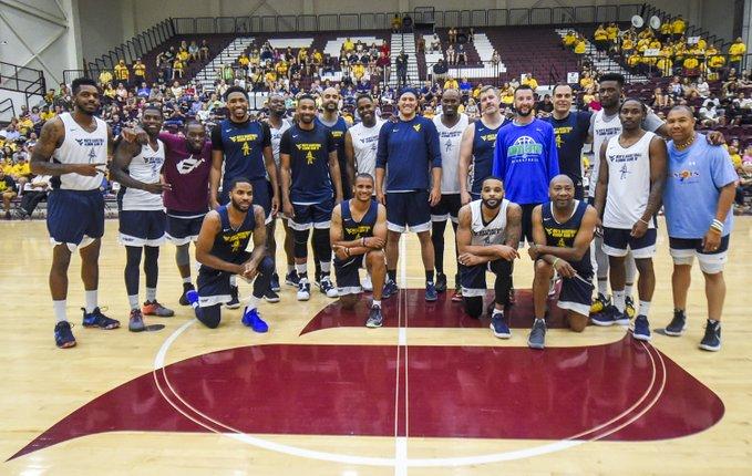 WVU Men's Basketball Alumni Game