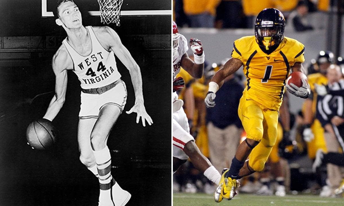 Best Combination of Football and Basketball Programs West Virginia