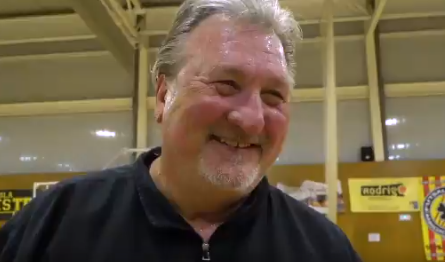 smiling bob huggins