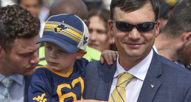 why we love our mountaineers, neal brown family