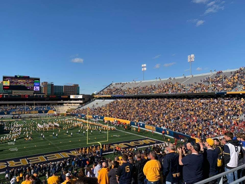wvu football student section