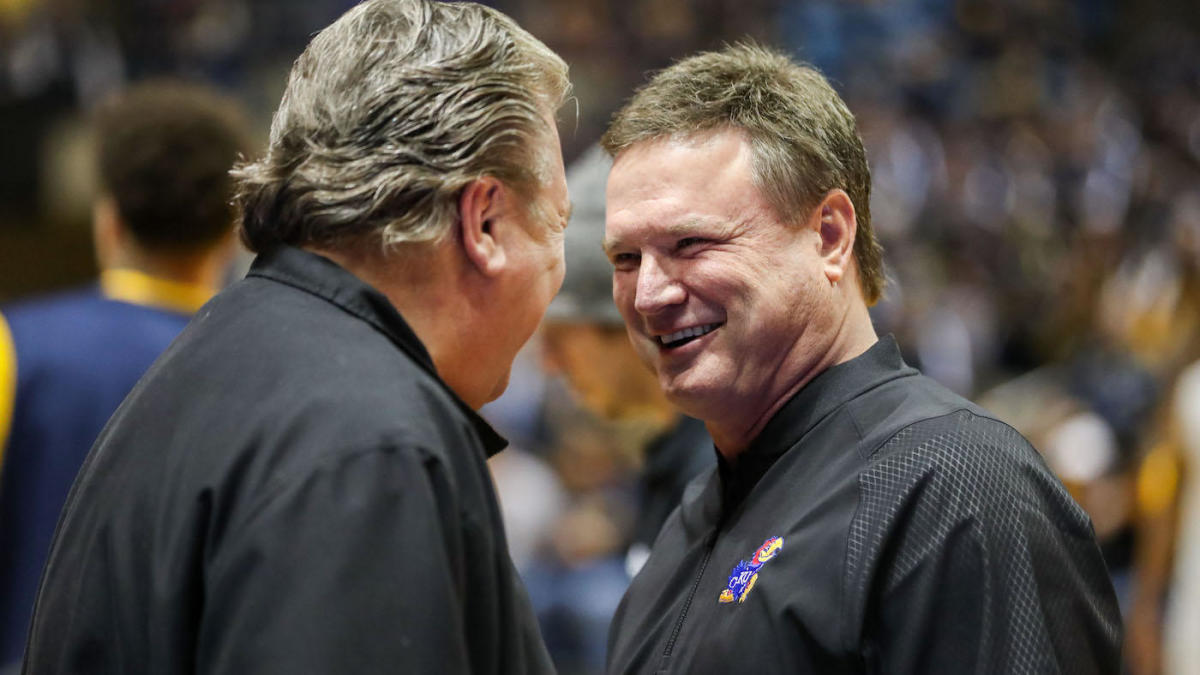 on to kansas, bill self, bob huggins
