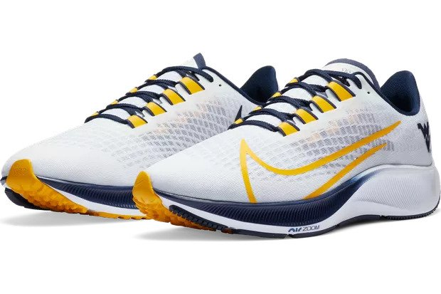 WVU Air Zoom Pegasus 37